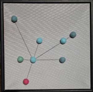 NetzwerkCollage 50 x 50 cm