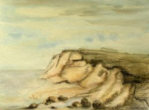 Ruegen Aquarell 24 x 32 cm